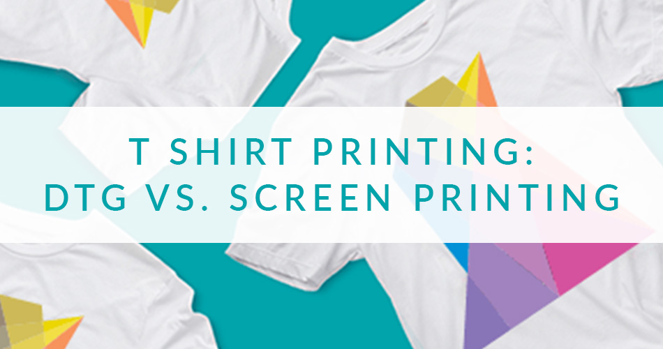 T Shirting Printing: DTG vs Screen Printing